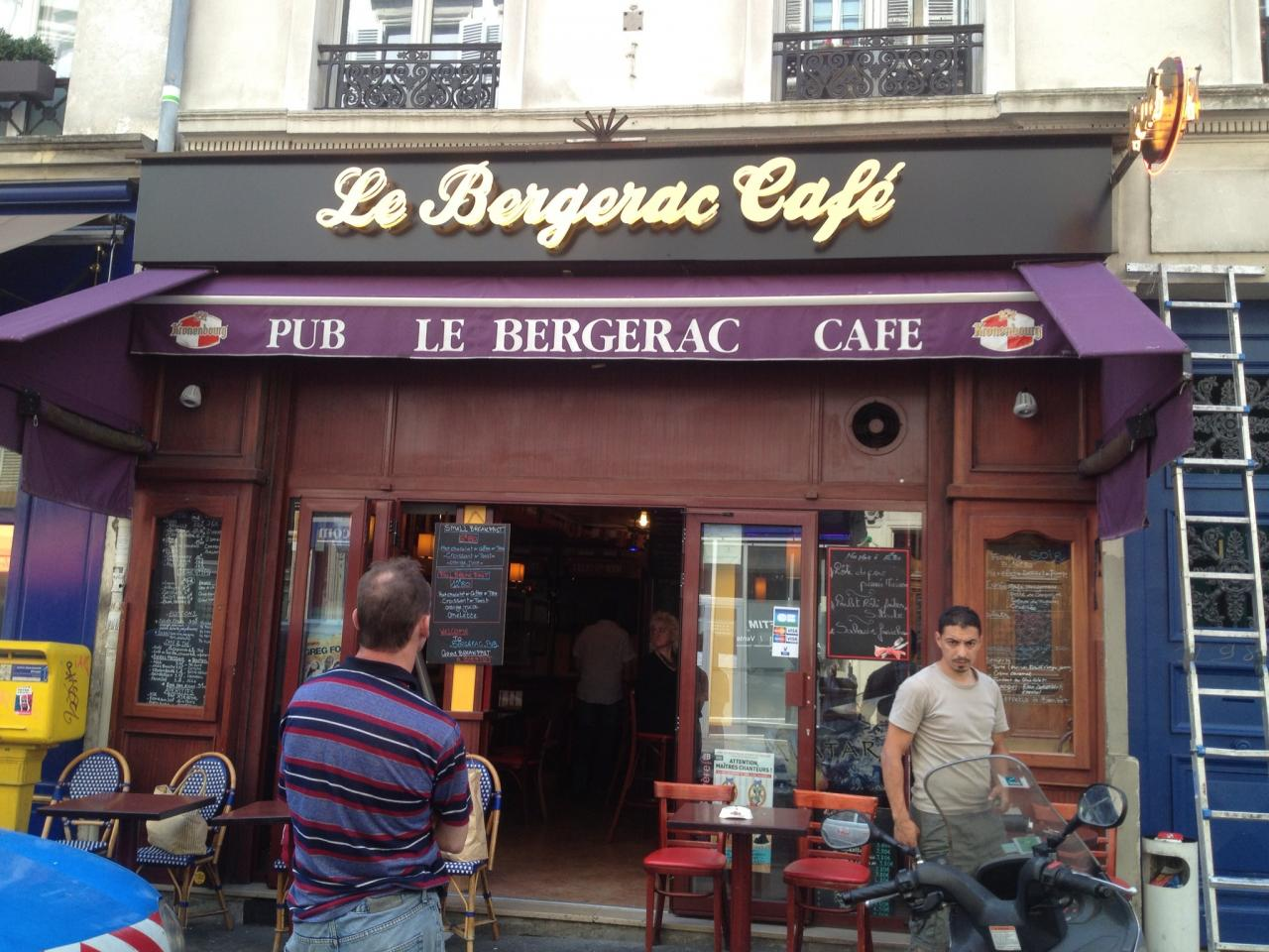 LE BERGERAC CAFE