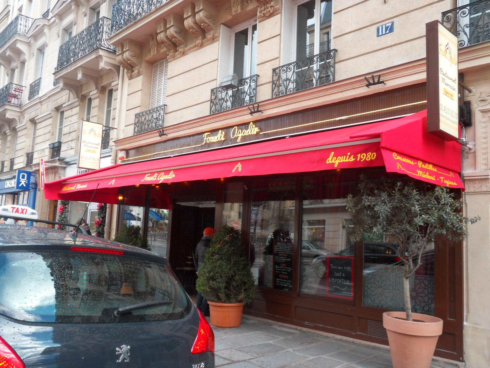 RESTAURANT FOUNTI AGADIR à Paris 5ème